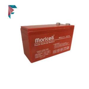 باطری 12 ولت 7 آمپر moricell | باطری دزدگیر