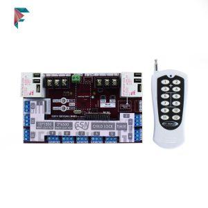 فرستنده گیرنده 12 کانال | ریموت کنترل  | تایمر دار | فرکانس 433 | خرید اینترنتی