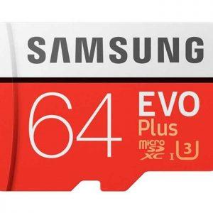 کارت حافظه  ۶۴GB |سامسونگ|مدل Evo Plus کلاس ۱۰ microSDXC