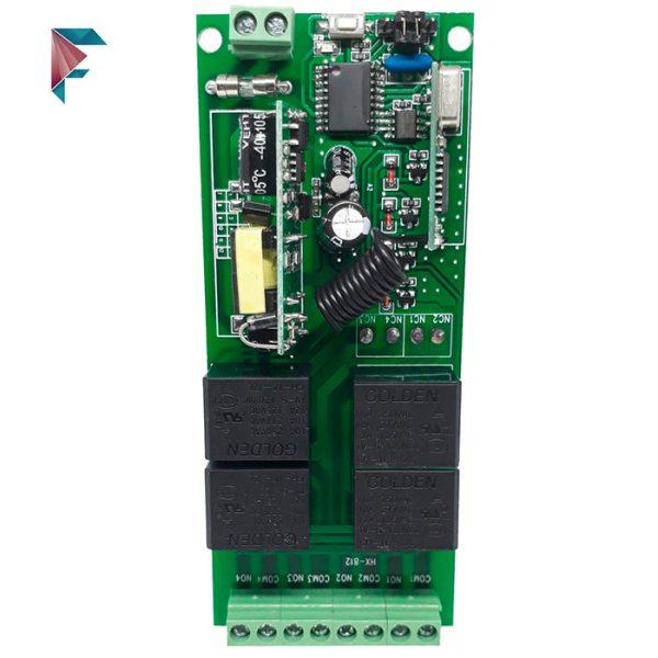 ریموت کنترل 4 کانال 220 ولت
