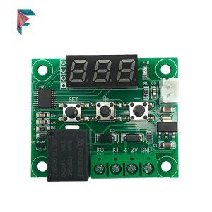 ترموستات دیجیتال XH | کنترلر دما 12 ولت | خرید اینترنتی | مزرعه دیجیتال