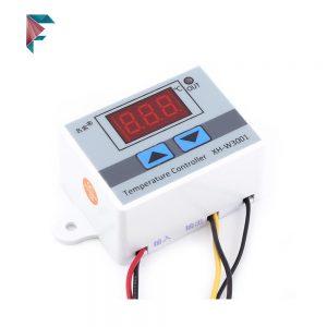 ترموستات دیجیتال XH-W | کنترلر دما 12 ولت قاب دار | خرید اینترنتی | مزرعه دیجیتال