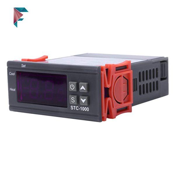ترموستات تابلویی صنعتی 220 ولت stc1000