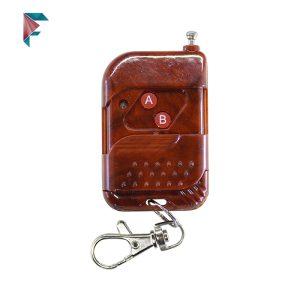 ریموت فیکس کد 315 مگاهرتز | 2 دکمه | pt2264 | طرح چوب