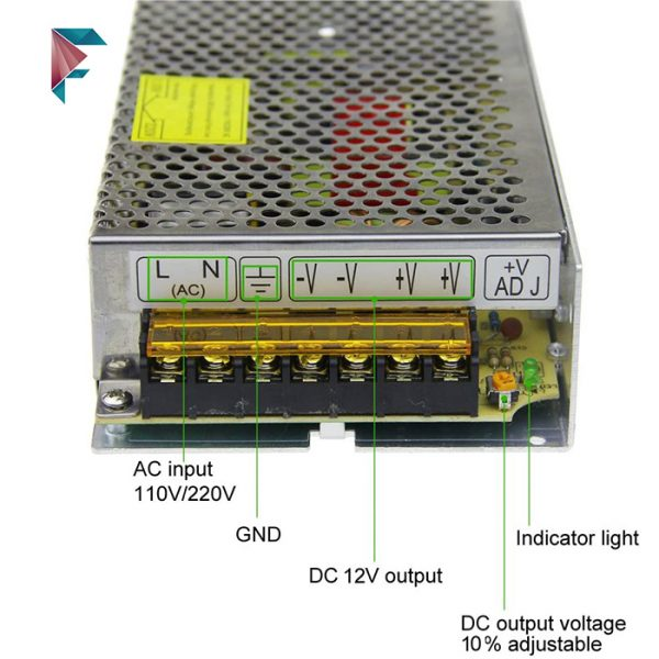 آداپتور-12-ولت-صنعتی-15-آمپر