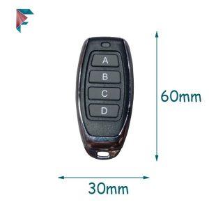 ریموت کنترل فرکانس 433 | طرح صدف | کوچک
