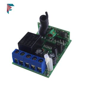 ریموت کنترل یک کاناله 12 ولت | 433 مگاهرتز | با قاب | برد متوسط